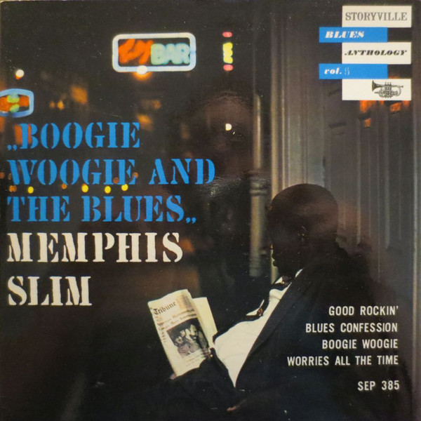 Cover Memphis Slim - Boogie Woogie And The Blues - Blues Anthology Vol. 5 (7, EP) Schallplatten Ankauf