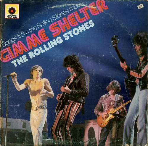 Cover The Rolling Stones - Gimme Shelter (LP, Comp, RE, HÖR) Schallplatten Ankauf
