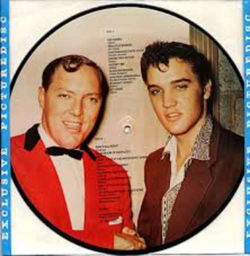 Cover Elvis Presley, Bill Haley - Elvis Presley & Bill Haley (LP, Comp, Pic) Schallplatten Ankauf