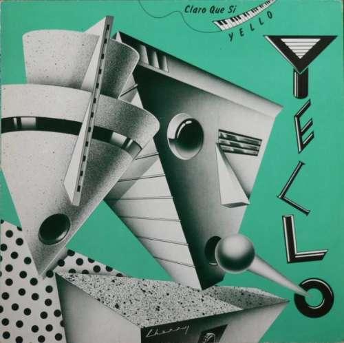 Bild Yello - Claro Que Si (LP, Album, Red) Schallplatten Ankauf