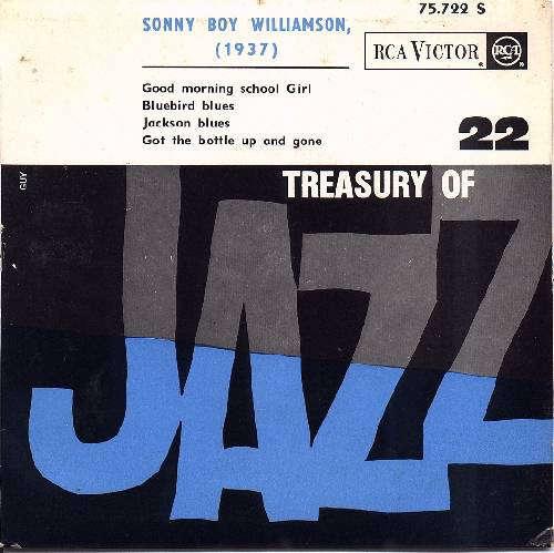 Bild Sonny Boy Williamson - Treasury Of Jazz N° 22 (7, EP) Schallplatten Ankauf