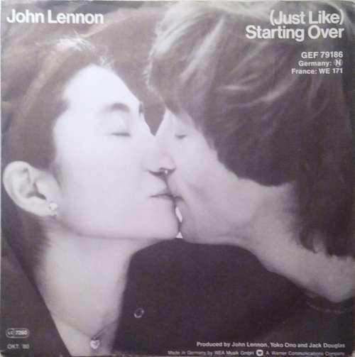 Bild John Lennon - (Just Like) Starting Over  (7, Single) Schallplatten Ankauf