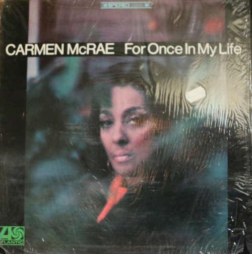 Bild Carmen McRae - For Once In My Life (LP, Album, RE) Schallplatten Ankauf