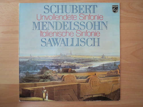 Bild Schubert* / Mendelssohn* - Wolfgang Sawallisch / Die Wiener Symphoniker* - Unvollendete / Italienische Symphonie (LP) Schallplatten Ankauf