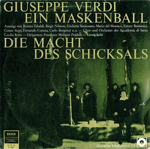Bild Giuseppe Verdi - Ein Maskenball / Die Macht Des Schicksals (Auszüge) (LP, Mono) Schallplatten Ankauf