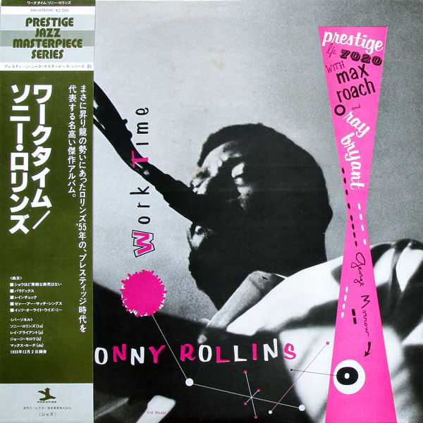 Cover Sonny Rollins - Worktime  (LP, Album, Mono, RE) Schallplatten Ankauf