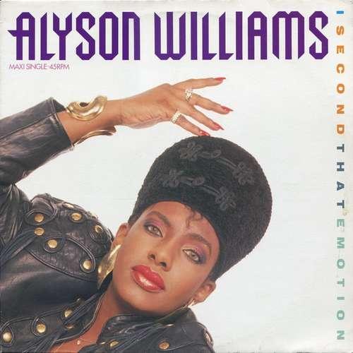 Bild Alyson Williams - I Second That Emotion (12, Maxi) Schallplatten Ankauf