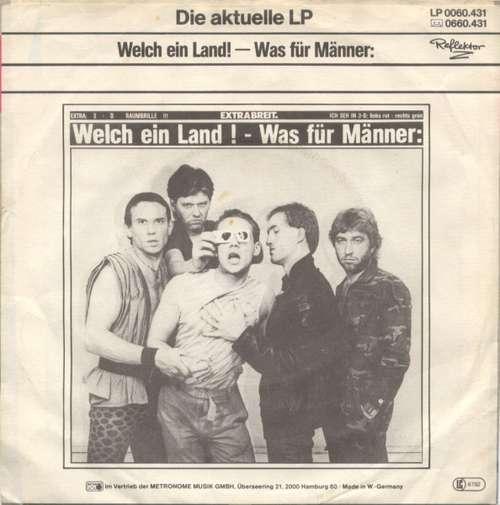 Cover zu Extrabreit - Polizisten (7, Single) Schallplatten Ankauf