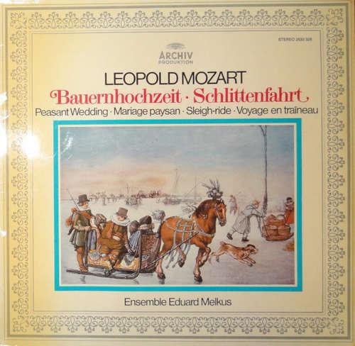 Bild Leopold Mozart - Ensemble Eduard Melkus - Bauernhochzeit - Musikalische Schlittenfahrt (LP, Album) Schallplatten Ankauf