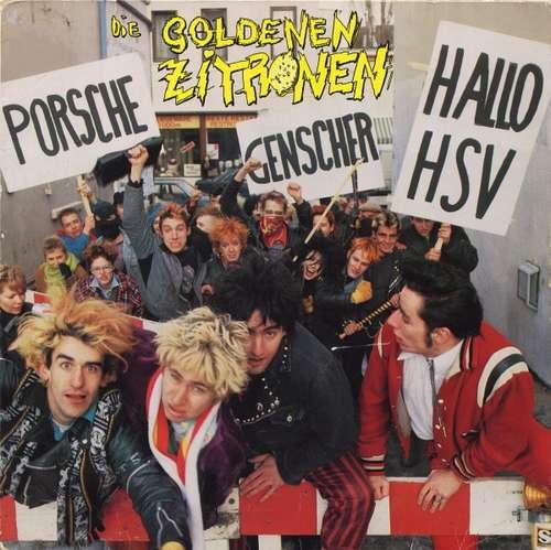 Cover Die Goldenen Zitronen - Porsche, Genscher, Hallo HSV (LP, Album) Schallplatten Ankauf