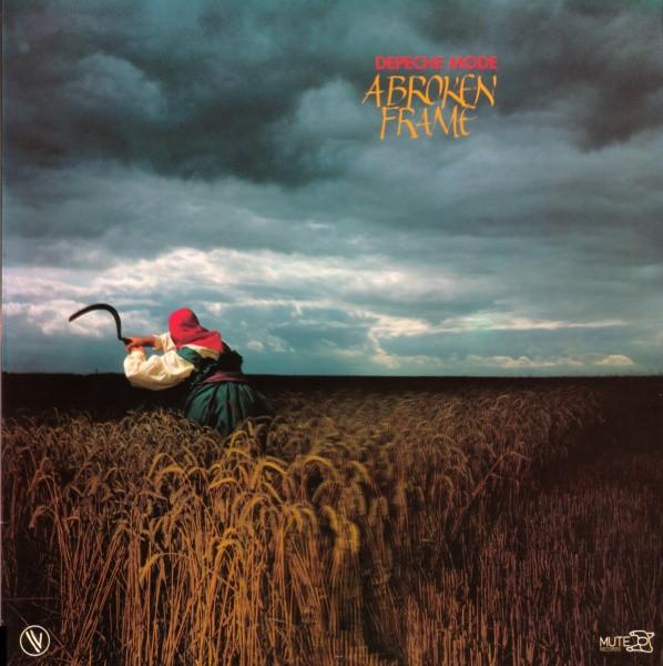 Cover Depeche Mode - A Broken Frame (LP, Album) Schallplatten Ankauf