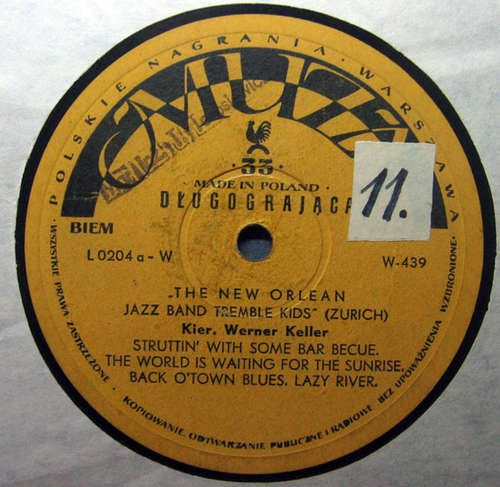 Cover The New Orlean Jazz Band Tremble Kids* - The New Orlean Jazz Band Tremble Kids (10, Album, Mono) Schallplatten Ankauf