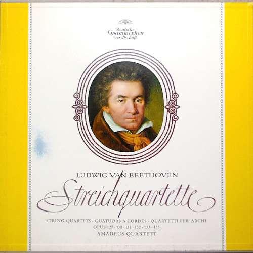 Bild Ludwig van Beethoven, Amadeus-Quartett - Streichquartette Opus 127, 130, 131, 132, 133, 135 (4xLP + Box) Schallplatten Ankauf
