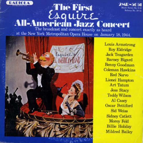 Bild Various - The First Esquire (All-American Jazz Concert) (2xLP, Album) Schallplatten Ankauf