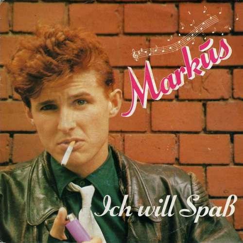 Cover Markus (6) - Ich Will Spaß (7, Single) Schallplatten Ankauf