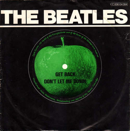 Cover The Beatles With Billy Preston - Get Back / Don't Let Me Down (7, Single, RE) Schallplatten Ankauf