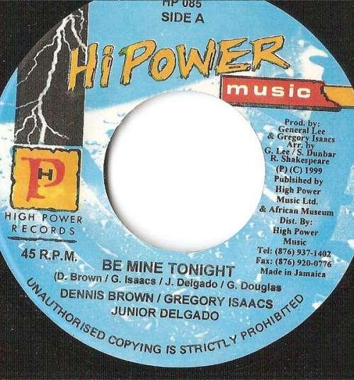 Bild Dennis Brown, Gregory Isaacs & Jr. Delgado* - Be Mine Tonight (7, Single) Schallplatten Ankauf