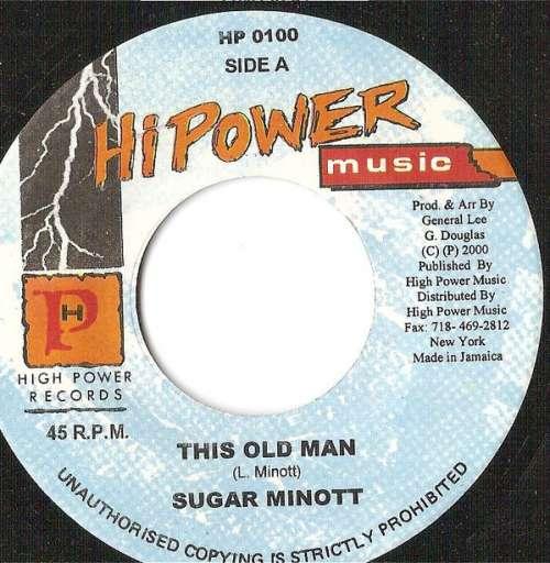 Bild Sugar Minott - This Old Man (7) Schallplatten Ankauf