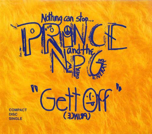 Cover zu Prince And The NPG* - Gett Off (CD, Single) Schallplatten Ankauf