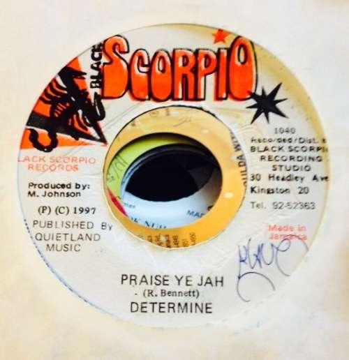 Cover Determine - Praise Ye Jah (7) Schallplatten Ankauf