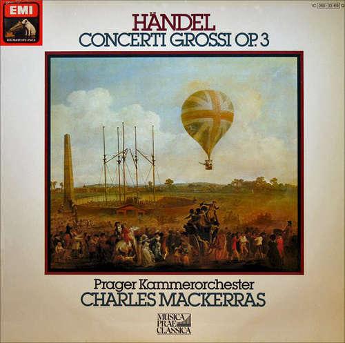 Cover Händel* - Prager Kammerorchester* • Charles Mackerras* - Concerti Grossi Op.3 (LP, Album, Quad) Schallplatten Ankauf