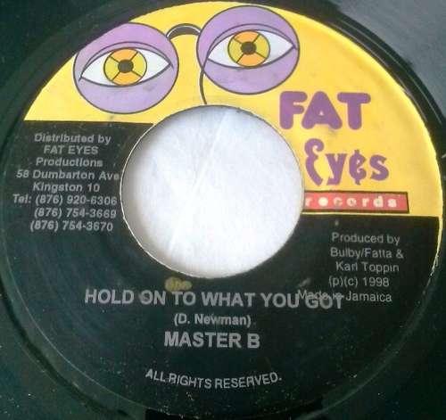 Bild Master B - Hold On To What You Got (7) Schallplatten Ankauf