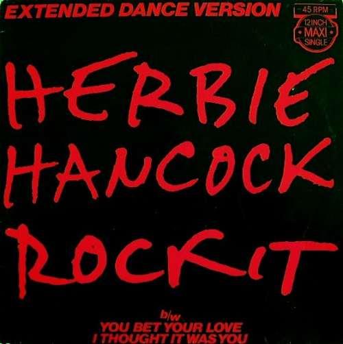 Cover Herbie Hancock - Rockit (Extended Dance Version) (12, Maxi) Schallplatten Ankauf