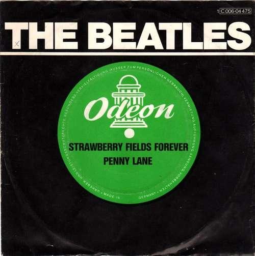 Bild The Beatles - Strawberry Fields Forever / Penny Lane (7, Single, Mono, RE) Schallplatten Ankauf