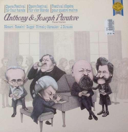 Bild Anthony & Joseph Paratore* - Mozart* - Rimsky-Korssakoff* - Rossini* - Joh. Strauss* - Suppé* - Opernfestival Für Vier Hände (LP, Comp) Schallplatten Ankauf