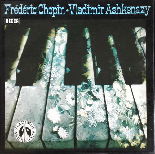 Cover zu Frédéric Chopin, Vladimir Ashkenazy - Klavierwerke  (2xLP + Box) Schallplatten Ankauf