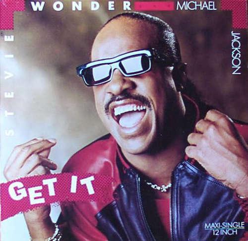 Cover Stevie Wonder And Michael Jackson - Get It (12, Maxi) Schallplatten Ankauf
