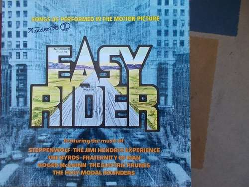 Bild Various - Easy Rider - Songs As Performed In The Motion Picture (LP, Comp, RE) Schallplatten Ankauf
