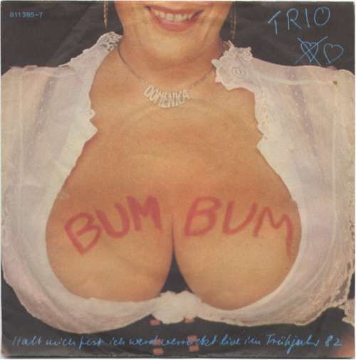Cover Trio - Bum Bum (7, Single) Schallplatten Ankauf