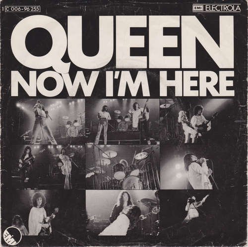 Cover Queen - Now I'm Here (7, Single) Schallplatten Ankauf
