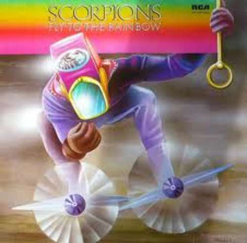 Cover Scorpions - Fly To The Rainbow (LP, Album, RE) Schallplatten Ankauf