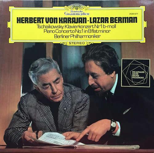 Bild Herbert von Karajan • Lazar Berman, Berliner Philharmoniker - Tschaikowsky* - Klavierkonzert Nr. 1 B-Moll (LP, Album, RE) Schallplatten Ankauf