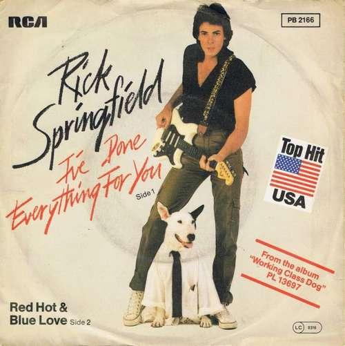 Bild Rick Springfield - I've Done Everything For You (7, Single) Schallplatten Ankauf