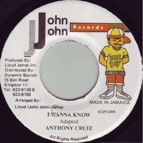 Bild Anthony Cruz - I Wanna Know (7) Schallplatten Ankauf