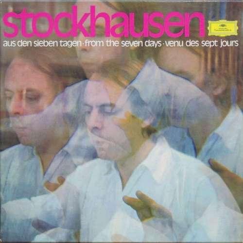 Cover Karlheinz Stockhausen - Aus Den Sieben Tagen (7xLP + Box) Schallplatten Ankauf