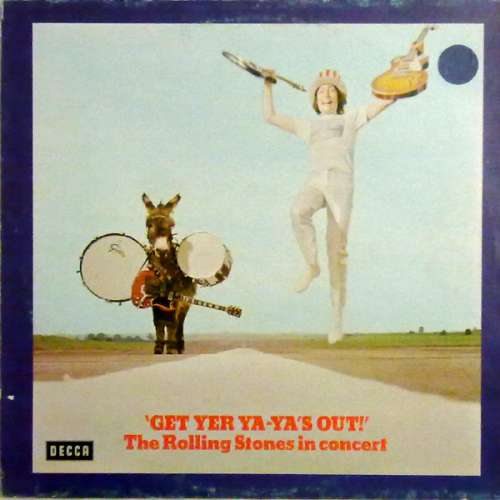 Cover The Rolling Stones - Get Yer Ya-Ya's Out! - The Rolling Stones In Concert (LP, Album, RE) Schallplatten Ankauf