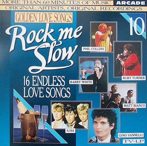 Cover zu Various - Golden Love Songs Volume 10 - Rock Me Slow (LP, Comp) Schallplatten Ankauf