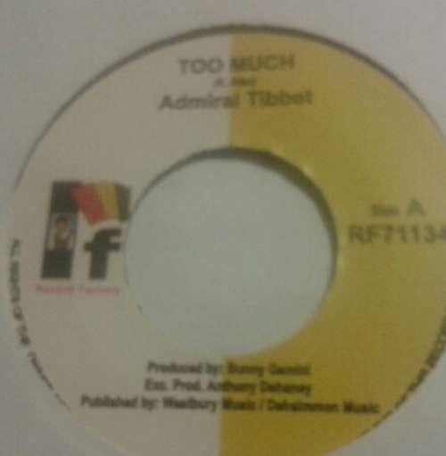 Cover zu Admiral Tibet - Too Much (7) Schallplatten Ankauf