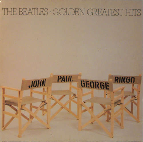 Cover zu The Beatles - Golden Greatest Hits (LP, Comp, Club) Schallplatten Ankauf