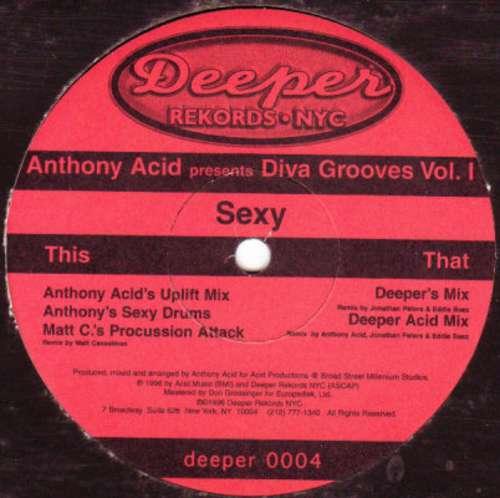 Bild Anthony Acid - Diva Grooves Vol. 1 (Sexy) (12) Schallplatten Ankauf