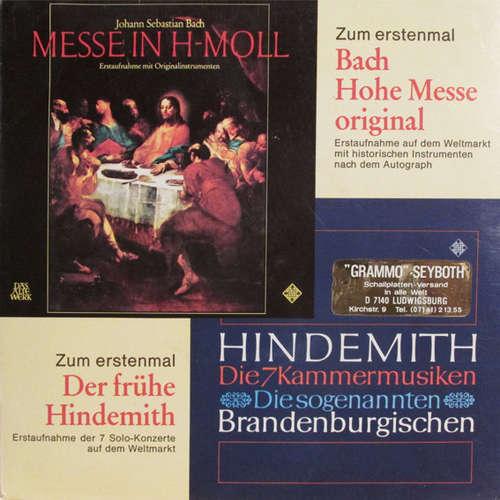 Bild Various - Ausschnitte Aus Bach, Messe In H-moll Und Hindemith, Kammermusik Nr. 1, 7 Und 4 (7, Single, Promo) Schallplatten Ankauf