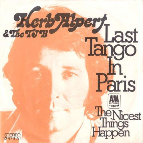 Cover Herp Alpert & The TJB* - Last Tango In Paris (7) Schallplatten Ankauf