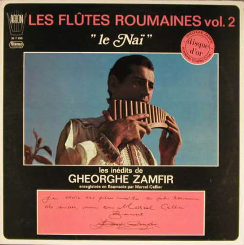 Bild Gheorghe Zamfir - Les Flûtes Roumaines Vol. 2  (Le Naï) (LP, Album) Schallplatten Ankauf