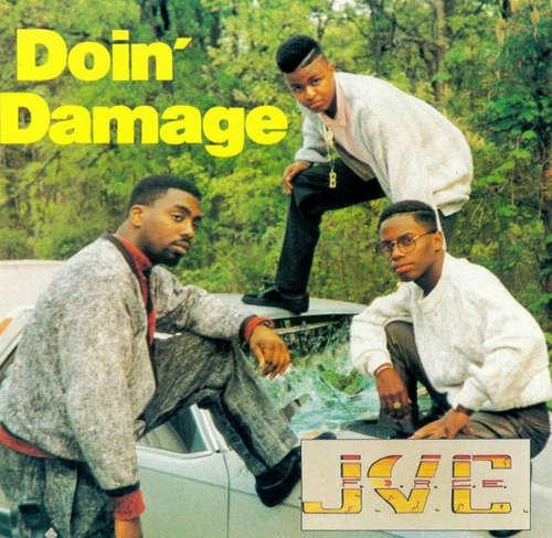 Cover J.V.C. F.O.R.C.E. - Doin' Damage (CD, Album) Schallplatten Ankauf