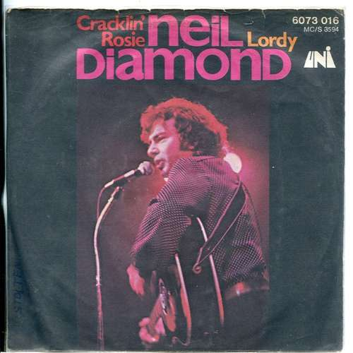 Cover Neil Diamond - Cracklin' Rosie / Lordy (7, Single) Schallplatten Ankauf
