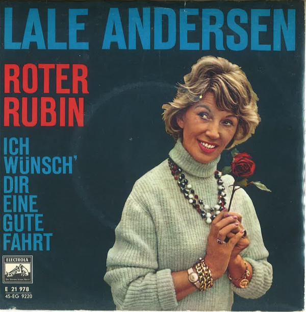 Bild Lale Andersen - Roter Rubin (7, Single) Schallplatten Ankauf